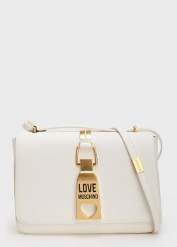 Сумка кросс-боди Love Moschino с декором на клапане, фото