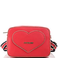 Поясная сумка Love Moschino красного цвета, фото