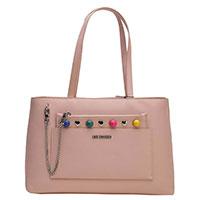 Женская сумка Love Moschino с цветными бусинами, фото