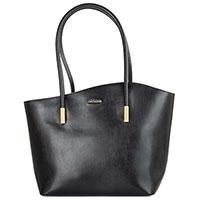 Женская деловая сумка Arcadia черного цвета, фото