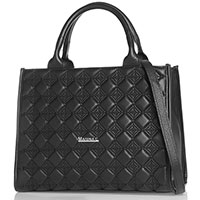 Деловая сумка Marina Creazioni черного цвета, фото