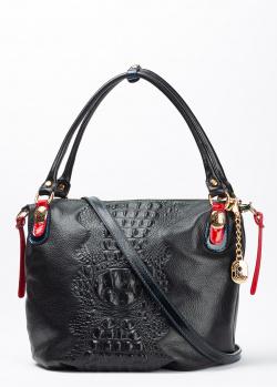 Деловая сумка Marino Orlandi с тиснением под рептилию, фото