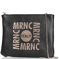 Черная сумка Marina Creazioni на цепочке, фото