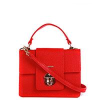 Сумка-портфель Nila&Nila красного цвета, фото