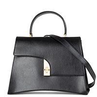 Сумка-портфель Arcadia из черной кожи, фото