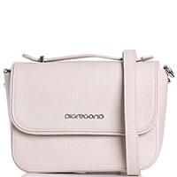 Маленькая сумка Di Gregorio бежевого цвета, фото