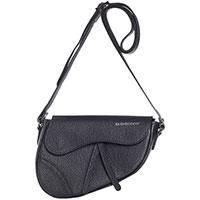 Черная сумка Di Gregorio фигурной формы, фото