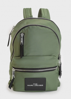 Текстильный рюкзак Marc Jacobs цвета хаки, фото