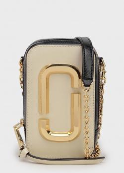 Прямоугольная сумка Marc Jacobs The Hot Shot на цепочке, фото