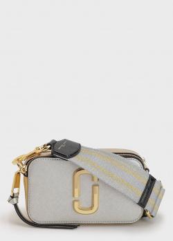 Сумка Marc Jacobs из комбинации серебристой и золотистой кожи, фото