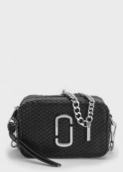 Сумка на цепочке Marc Jacobs с тиснением под змею, фото