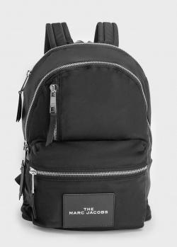 Черный рюкзак Marc Jacobs с фирменной нашивкой, фото