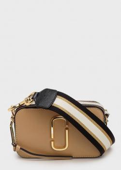 Прямоугольная сумка Marc Jacobs The Snapshot коричневого цвета, фото