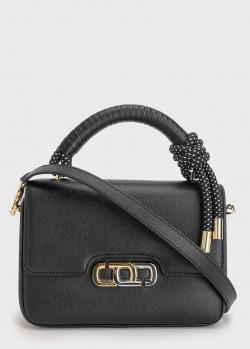 Черная сумка Marc Jacobs J Link с декором-шнурком, фото