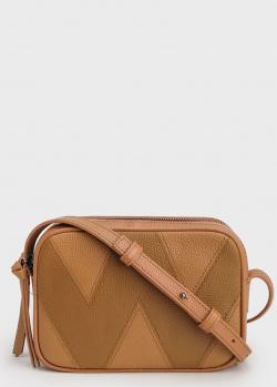 Маленькая сумка Max Mara Weekend из коричневой кожи, фото