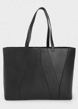 Сумка-шоппер Max Mara Weekend черного цвета, фото