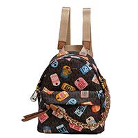 Коричневый рюкзак Michael Kors из текстиля, фото