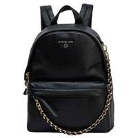 Черный рюкзак Michael Kors с цепочкой, фото