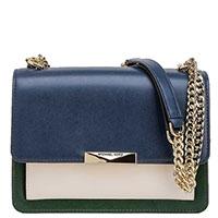 Трехцветная сумка Michael Kors Jade на цепочке, фото