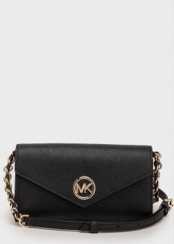 Черная сумка Michael Kors Soho с логотипом, фото