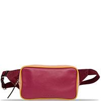 Поясная сумка Marni красного цвета, фото