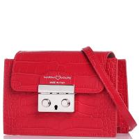 Красная сумка Marina Volpe кросс-боди, фото