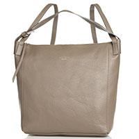 Сумка-рюкзак Marina Volpe коричневого цвета, фото