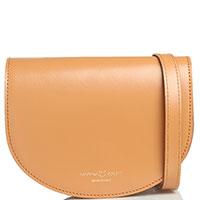 Поясная сумка Marina Volpe светло-коричневого цвета, фото