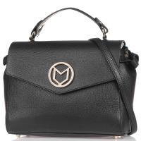 Сумка-портфель Marina Volpe черная, фото