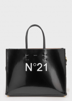 Сумка-шоппер N21 с логотипом, фото