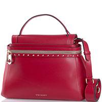 Красная сумка Twin-Set трапециевидной формы, фото