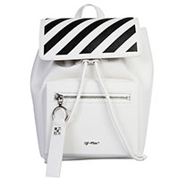 Белый рюкзак Off-White с принтом, фото