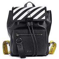 Черный рюкзак Off-White с принтом, фото