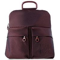 Текстильный рюкзак Mandarina Duck MD 20 LUX бордового цвета, фото