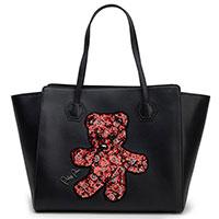 Черная сумка Philipp Plein с изображением медвежонка, фото