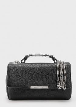 Черная сумка Philipp Plein с цепочкой, фото