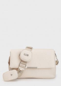 Молочная сумка Philipp Plein с фирменным тиснением, фото