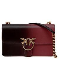 Маленькая сумка Pinko с декором бронзового цвета, фото