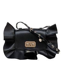 Черная сумка Red Valentino с оборками, фото