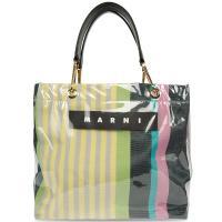 Большая сумка Marni в полоску, фото