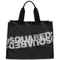 Сумка-шоппер Dsquared2 черного цвета, фото