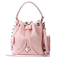 Сумка-мешок Salar розового цвета, фото