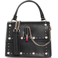 Черная сумка Tosca Blu Diva на цепочке, фото