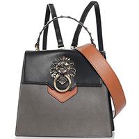 Сумка-рюкзак Tosca Blu Lady Danger с декором-львом, фото