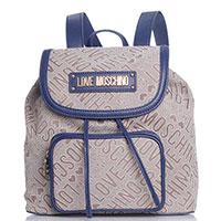 Рюкзак Love Moschino с накладным карманом на молнии, фото