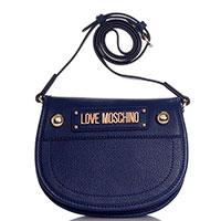Синяя сумка Love Moschino с принтом, фото