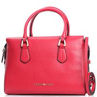 Красная сумка-тоут Emporio Armani прямоугольной формы, фото