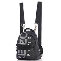Маленький рюкзак Kenzo из текстиля черного цвета, фото