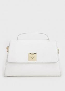 Сумка-портфель Tosca Blu белого цвета, фото