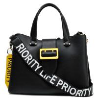 Деловая сумка Tosca Blu в черном цвете, фото